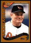 2002 Topps #298  Mike Hargrove  Front Thumbnail