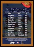 2002 Topps #343   -  Walker / Helton / Alou / Berk League Leaders Back Thumbnail