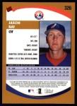 2002 Topps #326  Jason Bay   Back Thumbnail