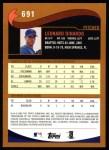 2002 Topps #691  Len Dinardo  Back Thumbnail