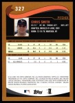2002 Topps #327  Chris Smith  Back Thumbnail