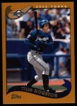 2002 Topps #411  Tyler Houston  Front Thumbnail