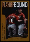 2002 Topps #355   St. Louis Cardinals - Playoff-Bound Front Thumbnail