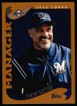 2002 Topps #281  Davey Lopes  Front Thumbnail