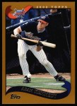 2002 Topps #24  Adam Kennedy  Front Thumbnail