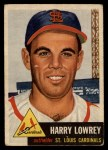 1953 Topps #16  Peanuts Lowrey  Front Thumbnail