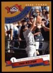 2002 Topps #707   -  Todd Helton Golden Glove Front Thumbnail