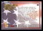 2002 Topps #364  B.Bonds / J.Bagwell  Back Thumbnail