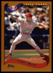 2002 Topps #221  Randy Wolf  Front Thumbnail