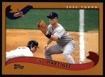 2002 Topps #525  Tino Martinez  Front Thumbnail