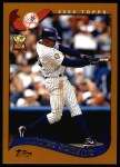 2002 Topps #95  Alfonso Soriano  Front Thumbnail