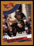 2002 Topps #706   -  Brad Ausmus Golden Glove Front Thumbnail