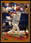 2002 Topps #164  Jimmy Rollins  Front Thumbnail