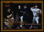 2002 Topps #348   -  Randy Johnson / Curt Schilling / Chan Ho Park League Leaders Front Thumbnail