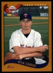2002 Topps #402  Kyle Lohse  Front Thumbnail