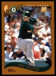 2002 Topps #380  Eric Chavez  Front Thumbnail