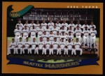 2002 Topps #666   Seattle Mariners Front Thumbnail