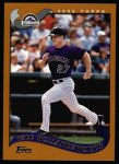 2002 Topps #185  Todd Hollandsworth  Front Thumbnail
