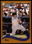 2002 Topps #10  Mike Hampton  Front Thumbnail