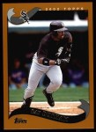 2002 Topps #242  Ray Durham  Front Thumbnail