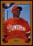2002 Topps #311  Marlon Byrd  Front Thumbnail