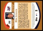 2002 Topps #292  Mike Scioscia  Back Thumbnail