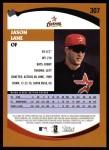 2002 Topps #307  Jason Lane  Back Thumbnail