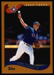 2002 Topps #18  Rick Helling  Front Thumbnail