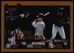2002 Topps #344   -  Sosa / Helton / Bonds League Leaders Front Thumbnail