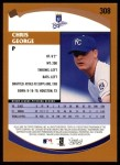 2002 Topps #308  Chris George  Back Thumbnail
