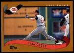 2002 Topps #79  Sean Casey  Front Thumbnail