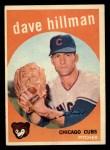 1959 Topps #319  Dave Hillman  Front Thumbnail