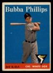1958 Topps #212  Bubba Phillips  Front Thumbnail