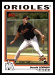 2004 Topps #306   -  Donald Levinski First Year Front Thumbnail