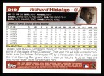 2004 Topps #219  Richard Hidalgo  Back Thumbnail