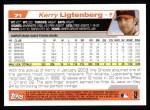 2004 Topps #71  Kerry Ligtenberg  Back Thumbnail