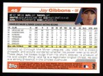 2004 Topps #46  Jay Gibbons  Back Thumbnail