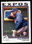 2004 Topps #284  Frank Robinson  Front Thumbnail