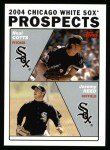 2004 Topps #690  Jeremy Reed / Neal Cotts  Front Thumbnail