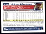 2004 Topps #535  Antonio Alfonseca  Back Thumbnail