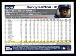2004 Topps #508  Kenny Lofton  Back Thumbnail