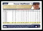 2004 Topps #386  Trevor Hoffman  Back Thumbnail