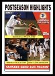 2004 Topps #352  Jason Giambi / Mariano Rivera / Aaron Boone  Front Thumbnail