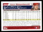 2004 Topps #424  Jason Simontacchi  Back Thumbnail