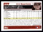 2004 Topps #515  Kirk Saarloos  Back Thumbnail
