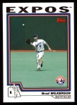 2004 Topps #244  Brad Wilkerson  Front Thumbnail