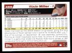 2004 Topps #466  Wade Miller  Back Thumbnail