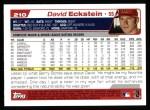 2004 Topps #210  David Eckstein  Back Thumbnail