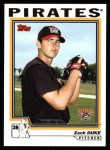 2004 Topps #325   -  Zach Duke First Year Front Thumbnail