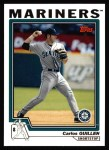 2004 Topps #72  Carlos Guillen  Front Thumbnail